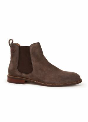 Dune London Character chelsea boot van leer