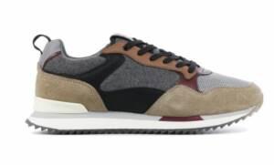 HOFF Heren Sneakers in Stof (Grijs)