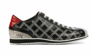 Harris Heren Sneakers in Leder (Grijs)