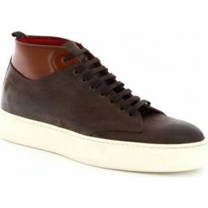 Hoge Sneakers Leonardo Shoes 375-69 PE PIUMA MORO