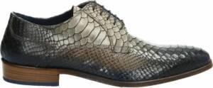 Lorenzi nette heren schoenen - Bruin multi - Maat 47