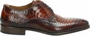 Lorenzi nette heren schoenen - Cognac - Maat 47