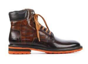 Melvin & Hamilton Heren Boots in Leder (Bruin)
