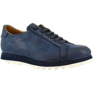 Nette schoenen Leonardo Shoes 1577_5 NABUK BLU