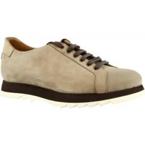 Nette schoenen Leonardo Shoes 1577_5 NABUK TAUPE