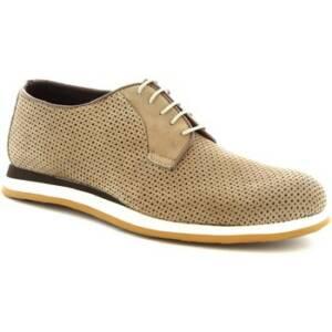 Nette schoenen Leonardo Shoes 398_3 PE NABUK TAUPE