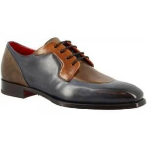 Nette schoenen Leonardo Shoes 9563E20 MONTECARLO DELAVE BLU