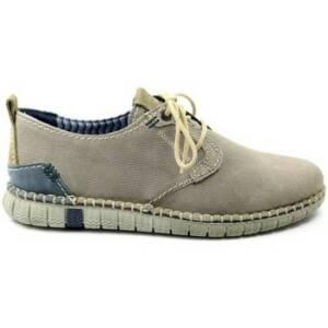 Nette schoenen Zen HEREN lage veterschoen 7794. grijs