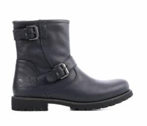 Panama Jack Heren Boots in Leder (Zwart)