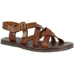 Sandalen Leonardo Shoes M6105 MARRONE