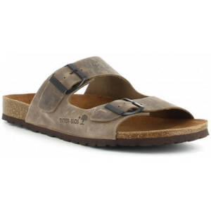 Slippers Interbios 9560 taupe