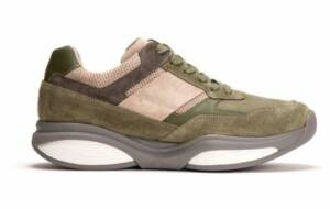 Xsensible Stretchwalker Heren Sneakers (Groen)