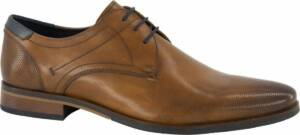 AM shoe Heren Bruine leren geklede veterschoen - Maat 46
