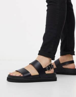 ASOS DESIGN - Sandalen in zwart