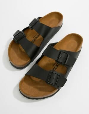 Birkenstock - Arizona - Birko-flor sandalen in zwart