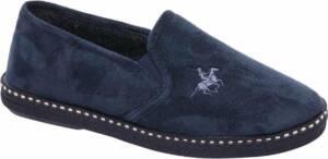 Casa mia Heren Blauwe pantoffel - Maat 46