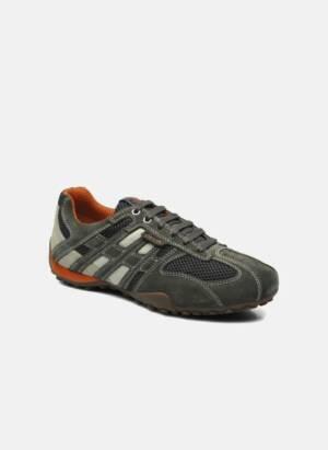 Geox U SNAKE K U4207K Grijs - Sneakers - Beschikbaar in 47