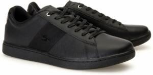 Lacoste Carnaby EVO Heren Sneakers - Zwart - Maat 46