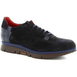 Nette schoenen Leonardo Shoes 350-69 PE CAMOSCIO BLU