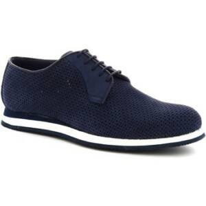 Nette schoenen Leonardo Shoes 398_3 PE NABUK BLUE
