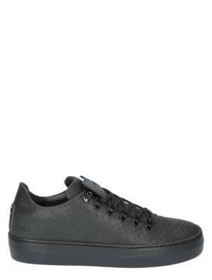 Nubikk Jagger Classic Python 21030601 10PY Black Python Sneakers lage-sneakers