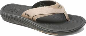 Reef Modern Heren Slippers - Black/Tan - Maat 46
