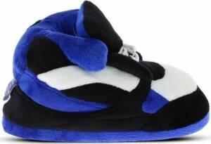 Sneakers sloffen/pantoffels blauw/zwart/wit voor heren 2XL (45-48)