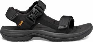 Teva Tanway Leather Heren Sandalen - Zwart - Maat 47