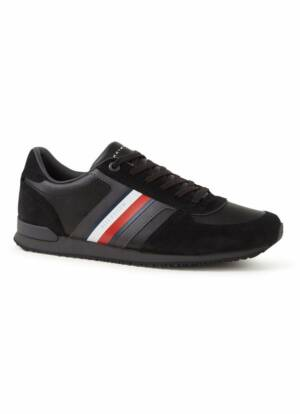 Tommy Hilfiger Iconic sneaker met suède details