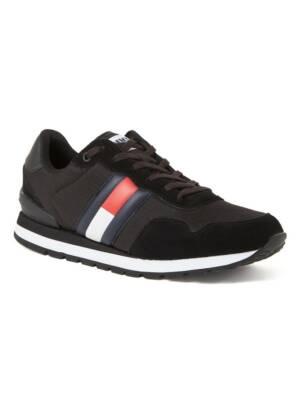 Tommy Hilfiger Lifestyle sneaker met suède details