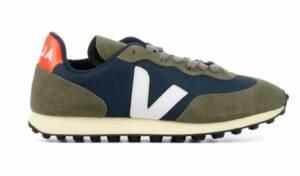 Veja Heren Sneakers in Suede (Blauw)