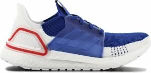 adidas Ultra BOOST 19 M Primeknit - Heren Sneakers Sport Casual Schoenen Blauw-Wit EF1340 - Maat EU 48 UK 12.5