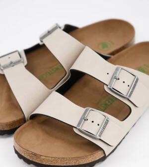 Birkenstock - Arizona - Vegan-vriendelijke sandalen in kiezelkleur-Beige