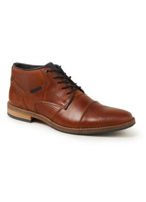 Dune London Chigwell veterschoen van leer
