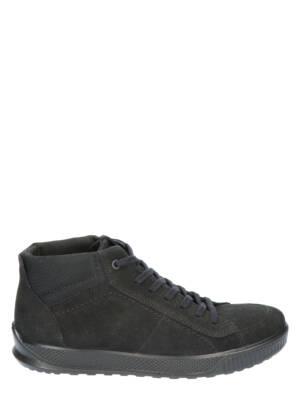 Ecco By Way Nubuck Mid Black Boots