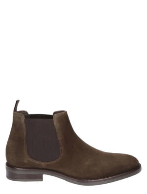 Daniel Kenneth Jason Velour Cioccolato Boots chelsea-boots