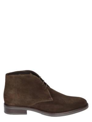 Daniel Kenneth Joris Velour Cioccolato Boots veter-boots