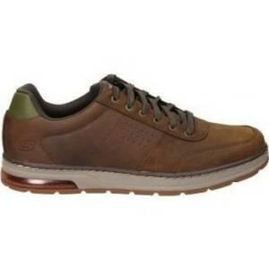Nette Schoenen Skechers ZAPATOS 210142-CDB CABALLERO MARRON