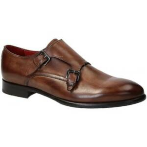 Nette schoenen Leonardo Shoes 06417 VITELLO DELAVE BRANDY