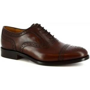 Nette schoenen Leonardo Shoes 07010 NAIROBI CIOCCOLATO