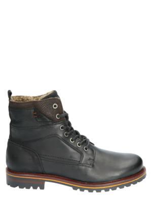 Rapid Soul Loek Black Boots veter-boots