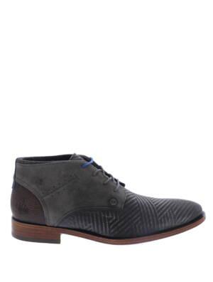 Rehab Salvador Zig Zag Dark Grey Boots veter-boots