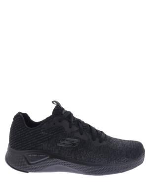 Skechers Solar Fuse Black Sneakers lage-sneakers
