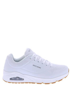Skechers Uno Stand On Air White Sneakers lage-sneakers