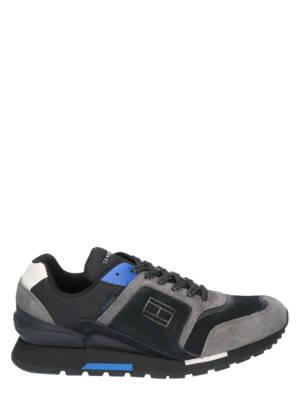 Tommy Hilfiger Dorian 1C Black Sneakers lage-sneakers