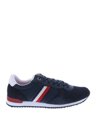 Tommy Hilfiger Iconic Mix Runner Desert Sky Sneakers lage-sneakers