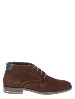 Tommy Hilfiger Signature Hilfiger Cocoa Boots veter-boots