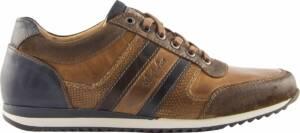 Australian Footwear Heren Sneakers Cornwall Tan Leer - Tan - maat 50