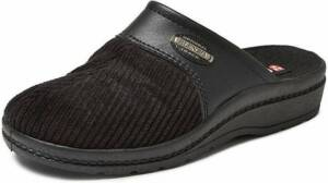 Blenzo 6856 Zwart Pantoffels Heren maat 46