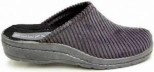 Blenzo - Pantoffels Heren - 6802 - Corduroy - Muil - Grijs - Maat 47